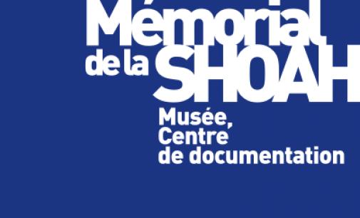 Conférence « Les archives de la Shoah » par M. Jacques FREDJ, Directeur du Mémorial de la Shoah