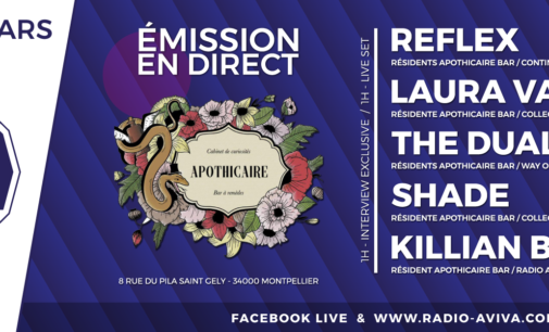 ELECTROVISION – MERCREDI 7 MARS 2018 – SPECIAL RESIDENTS APOTHICAIRE BAR