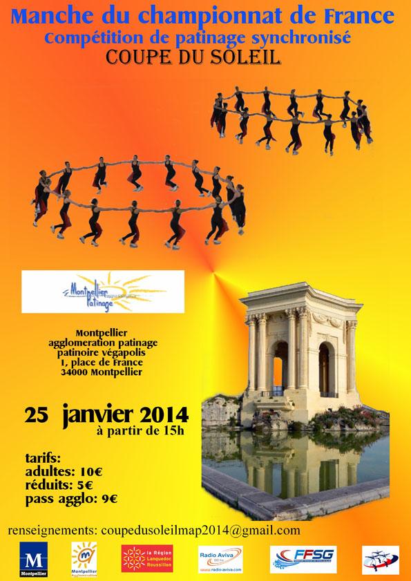 Coupe du soleil - Samedi 25 Janvier 2014