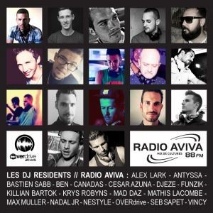 VISUEL - DJ RESIDENTS RADIO AVIVA