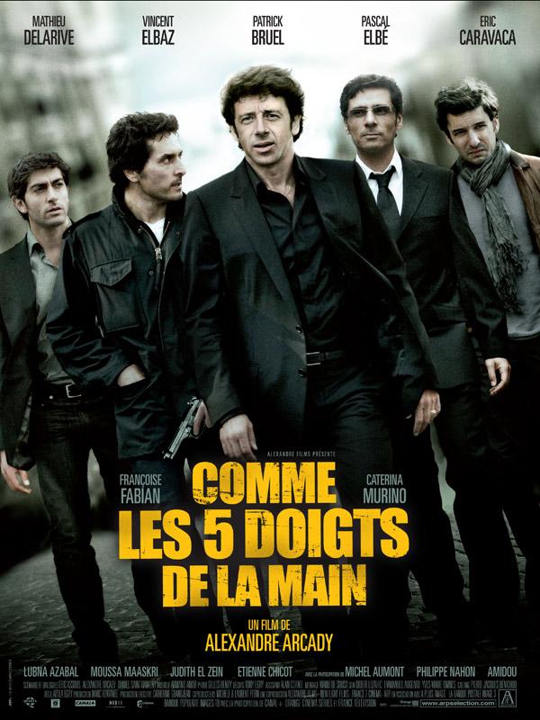 Affiche COMME LES DOIGTS DE LA MAIN - ALEXANDRE ARCADY