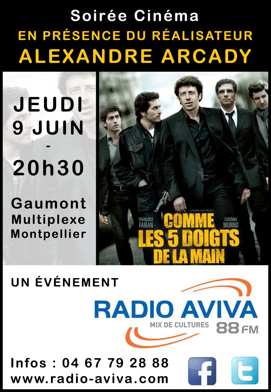 SOIREE CINE Radio Aviva - 09062016 V Finale